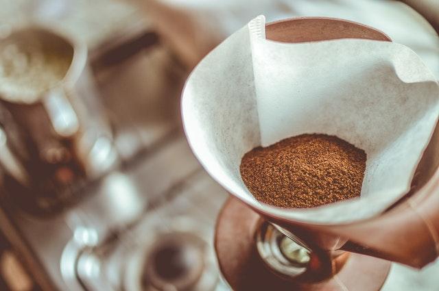 caffeine stuff ground coffee