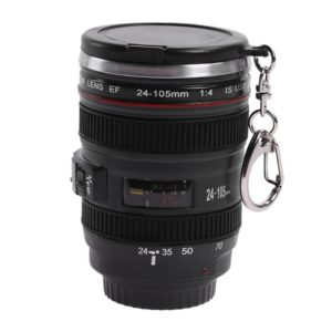 50ML Camera Lens 24-105mm 1:1 Scale Coffee