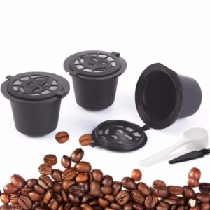 3pcs/set Rechargeable Reusable Pod Nespresso Coffee Capsule