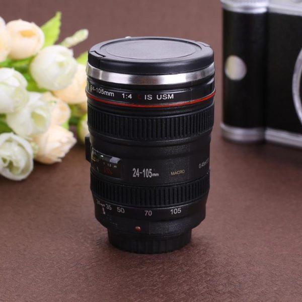 50ML Camera Lens 24-105mm 1:1 Scale Coffee