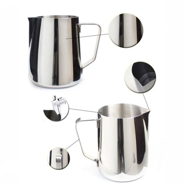 Stainless Pull Flower Cup Cappuccino